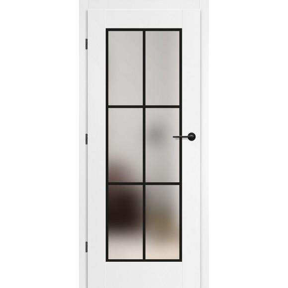 Bílé lakované interiérové dveře MISKANT 2