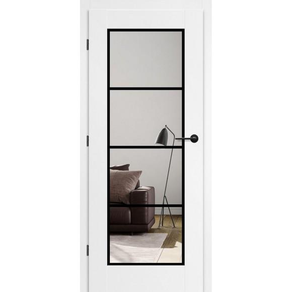 Bílé lakované interiérové dveře MISKANT 5