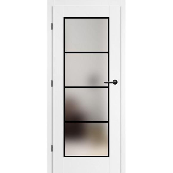 Bílé lakované interiérové dveře MISKANT 6