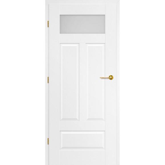 Bílé lakované interiérové dveře NEMÉZIE 10