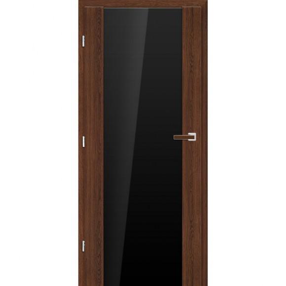 Interiérové dveře FRAGI 16 VSG/ESG ČERNÉ