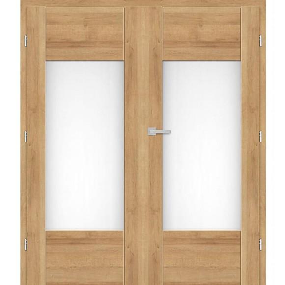Dvoukřídle Interiérové dveře BUDLEJA