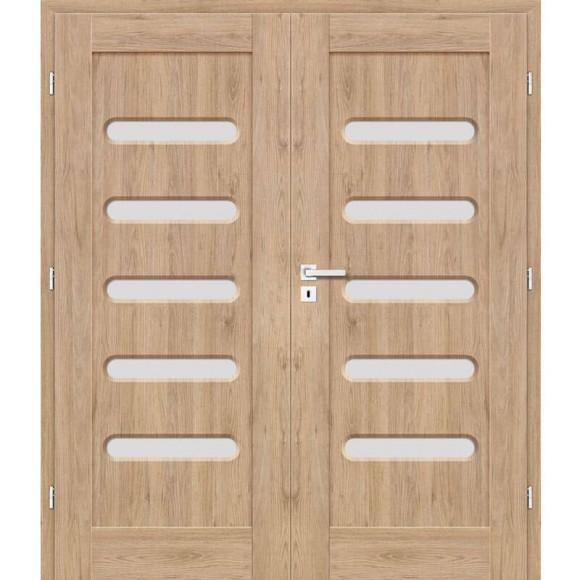 Dvoukřídle Interiérové dveře EVODIE