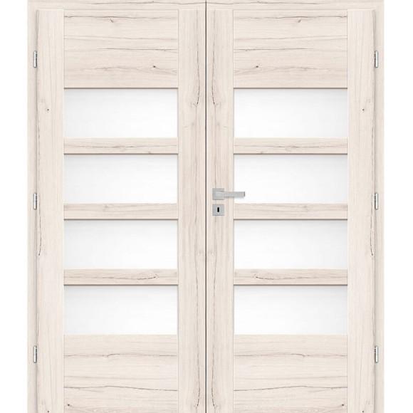 Dvoukřídle Interiérové dveře POVOJNIK