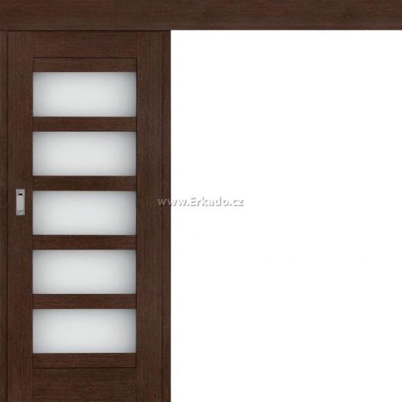 Posuvné dveře na stěnu AZALKA
