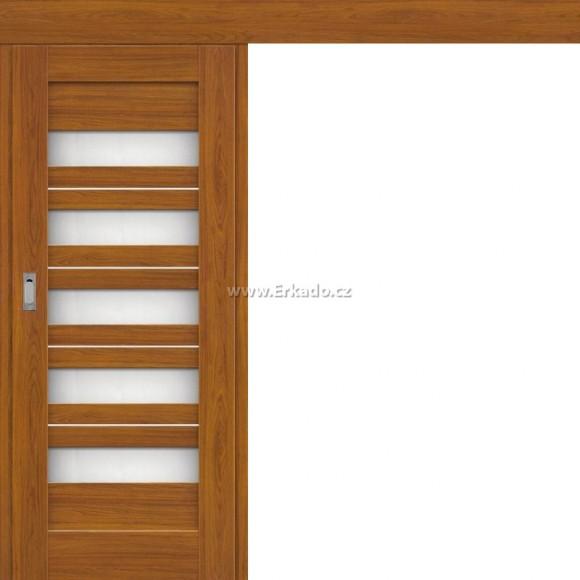 Posuvné dveře na stěnu BERBERIS