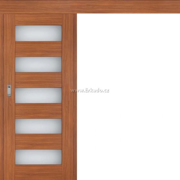 Posuvné dveře na stěnu IRIS