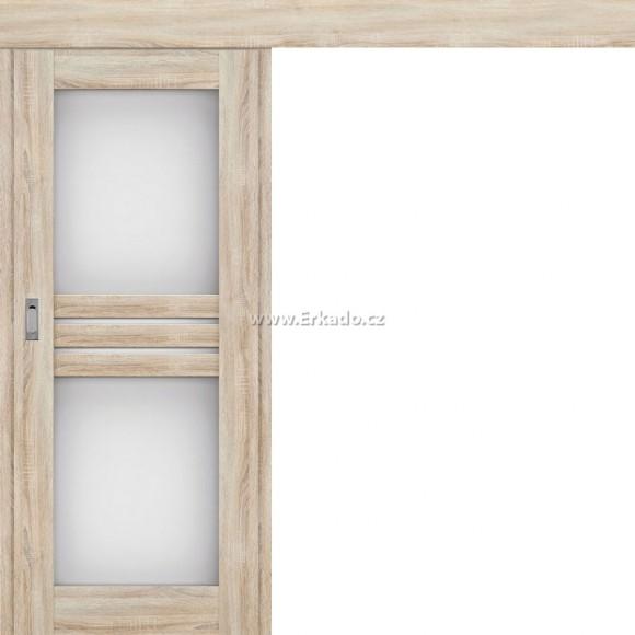 Posuvné dveře na stěnu JUKA