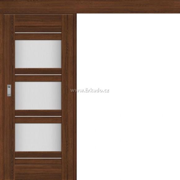 Posuvné dveře na stěnu KROKUS