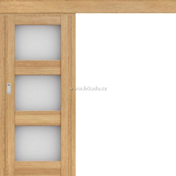 Posuvné dveře na stěnu LEVANDULE