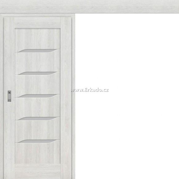 Posuvné dveře na stěnu NOLINA