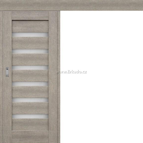 Posuvné dveře na stěnu PETÚNIE