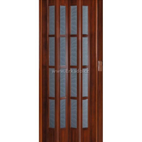 Shrnovací dveře CRYSTALLINE GLASS