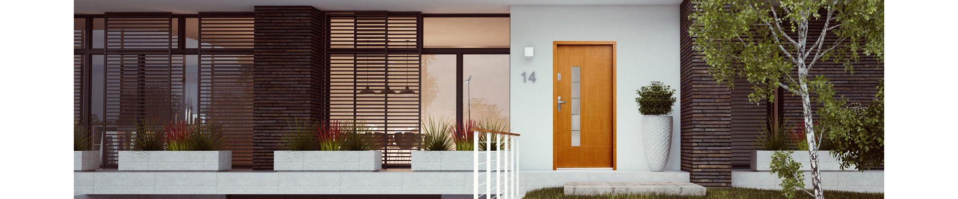 Nové modely vchodových dverí