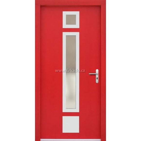 Venkovní vchodové dveře P48