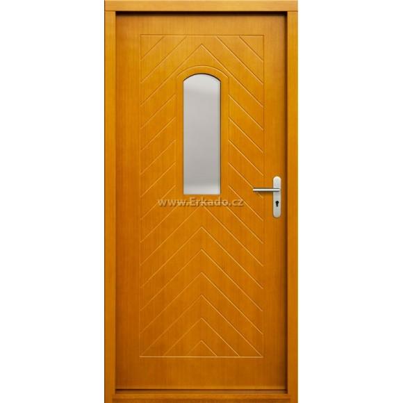 Venkovní vchodové dveře P54
