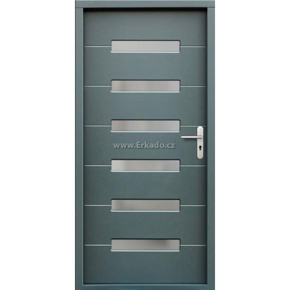 Venkovní vchodové dveře P55