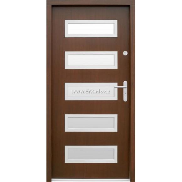 Venkovní vchodové dveře P56