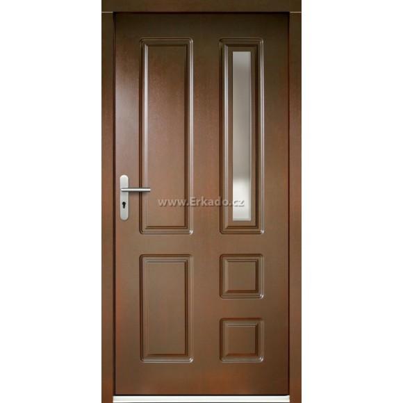 Venkovní vchodové dveře P6