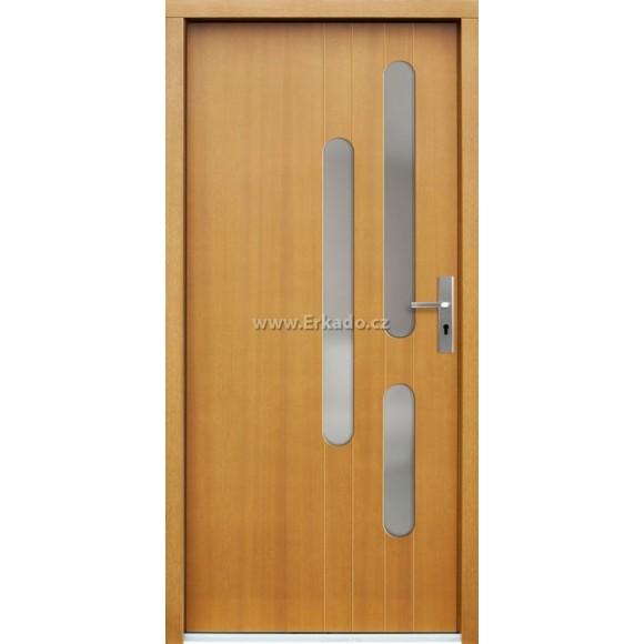 Venkovní vchodové dveře P61