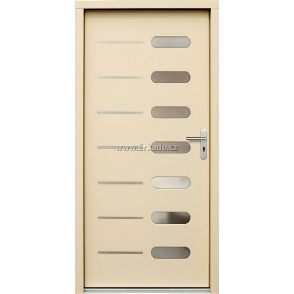 Venkovní vchodové dveře P64