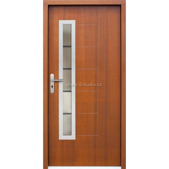 Venkovní vchodové dveře P66