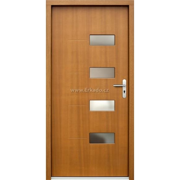 Venkovní vchodové dveře P69