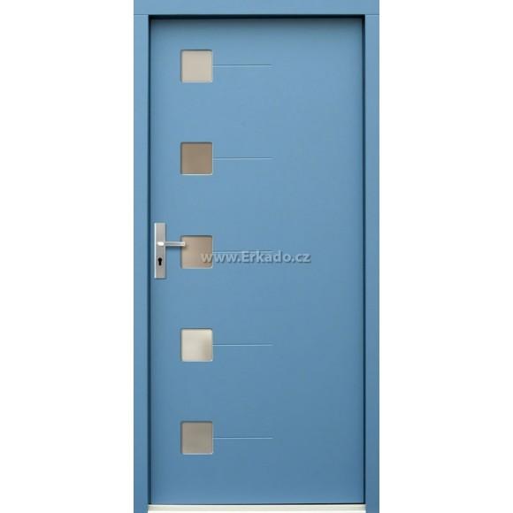 Venkovní vchodové dveře P71