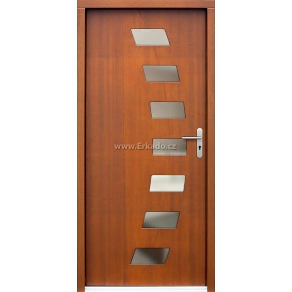 Venkovní vchodové dveře P72