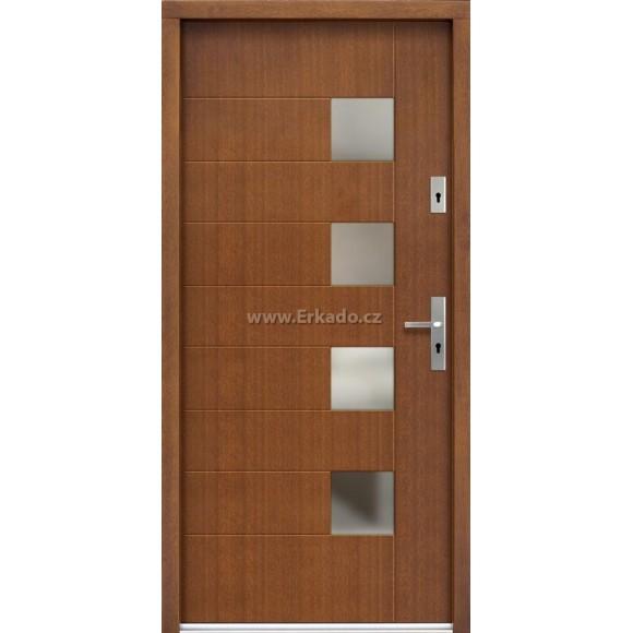 Venkovní vchodové dveře P74