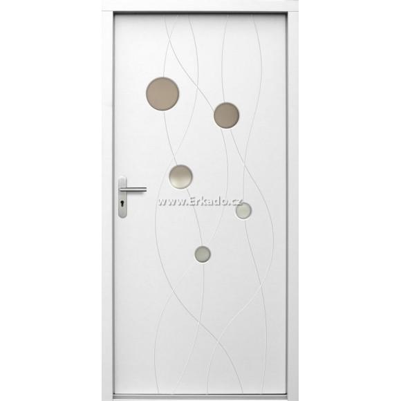 Venkovní vchodové dveře P80
