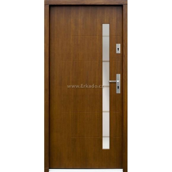 Venkovní vchodové dveře P83