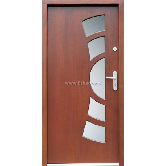 Venkovní vchodové dveře P9